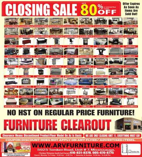 ARV Furniture Blog Mississauga